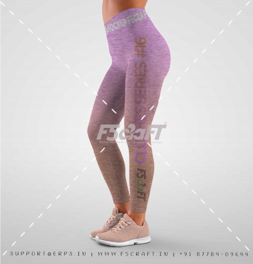 Athletic Leggings Mockups 3