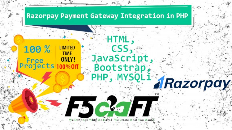 Razorpay Payment Gateway Integration in PHP