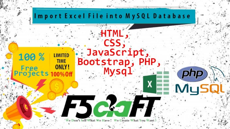 Import Excel File into MySQL Database using PHP