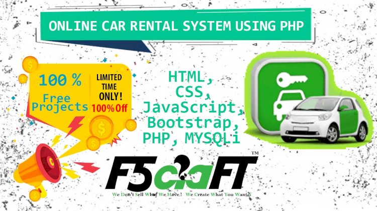ONLINE CAR RENTAL SYSTEM USING PHP WITH SOURCE CODE