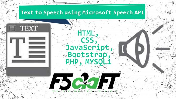 Text to Speech using Microsoft Speech API In PHP
