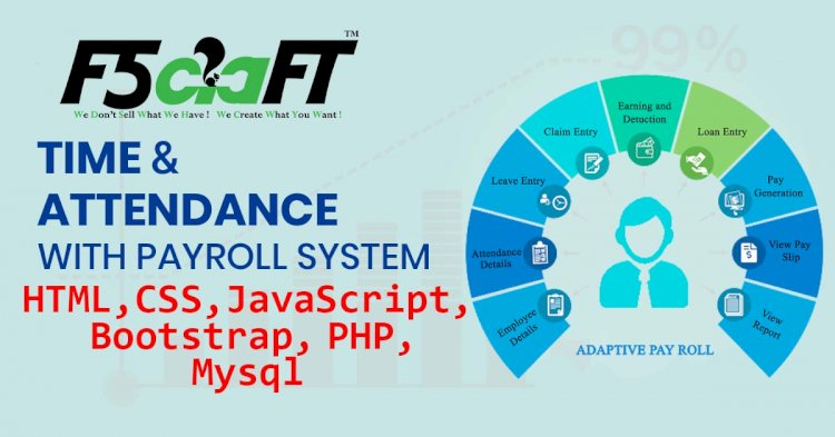 ATTENDANCE AND PAYROLL SYSTEM IN PHP WITH SOURCE CODE
