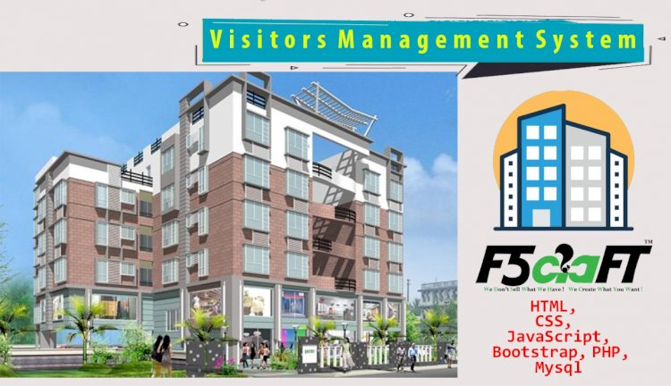 Apartment Visitors Management System in PHP
