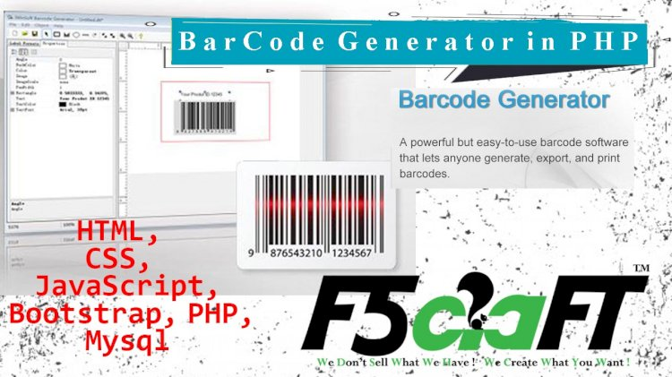 Barcode Generator  in PHP