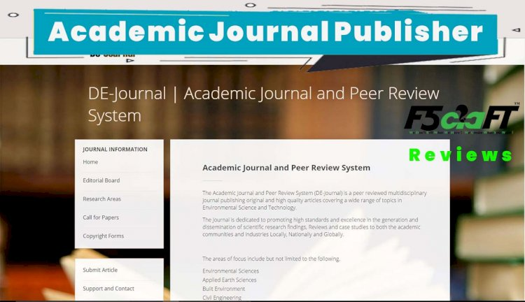 Academic Journal and Peer Review System in Core PHP