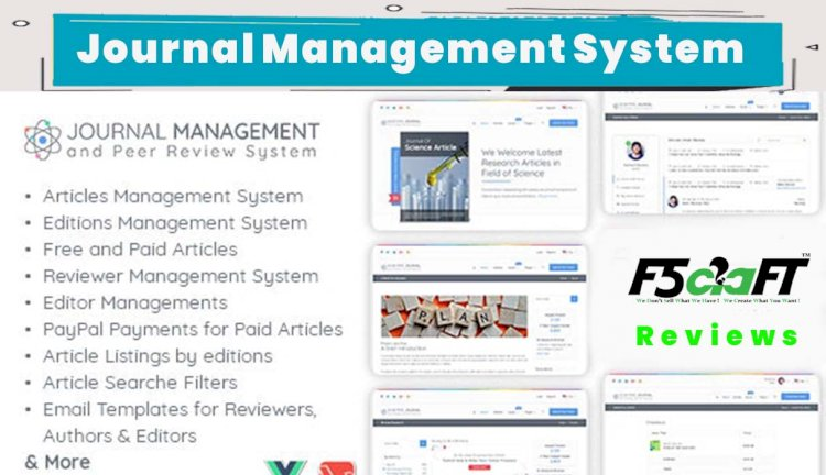 Journal Management and Peer Review System in Laravel PHP 7x