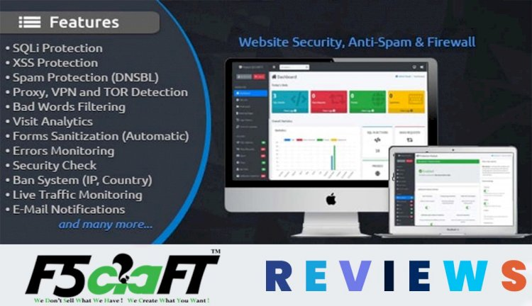 Online Project Security – Website Security, Anti-Spam & Firewall